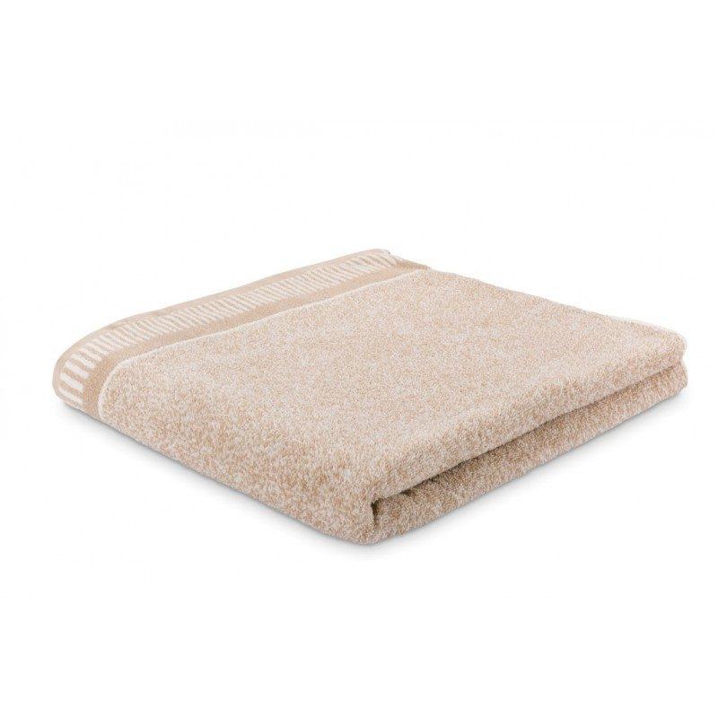 Doživite razkošno udobje v svoji kopalnici! Kakovostna brisača Relax iz bombažnega frotirja je trpežna, mehka, vpojna in se hitro suši. Klasična enobarvna brisača z elegantnim dekorativnim robom. Brisača je pralna na 60 °C.
