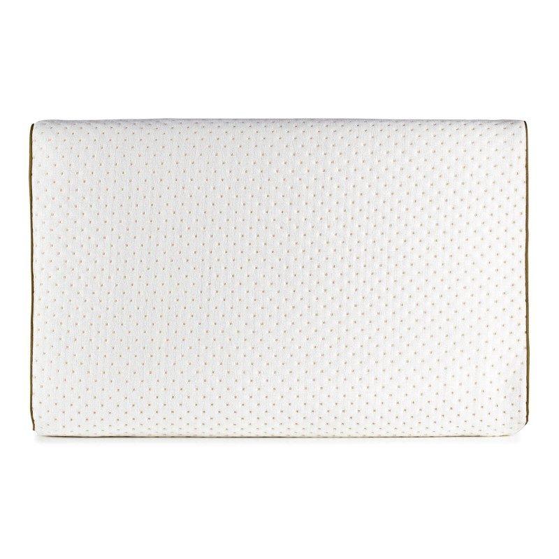 Anatomska oblika višjega vzglavnika XL Comfort iz lateksa je primerna za vse, ki imate širša ramena in spite pretežno na boku ali hrbtu. Lateks kot najprilagodljivejši naravni material odlično podpira vrat in glavo med spanjem, luknjičasta struktura jedra pa poskrbi za suho spalno okolje. Prevleka vzglavnika je snemljiva in pralna na 40 °C.