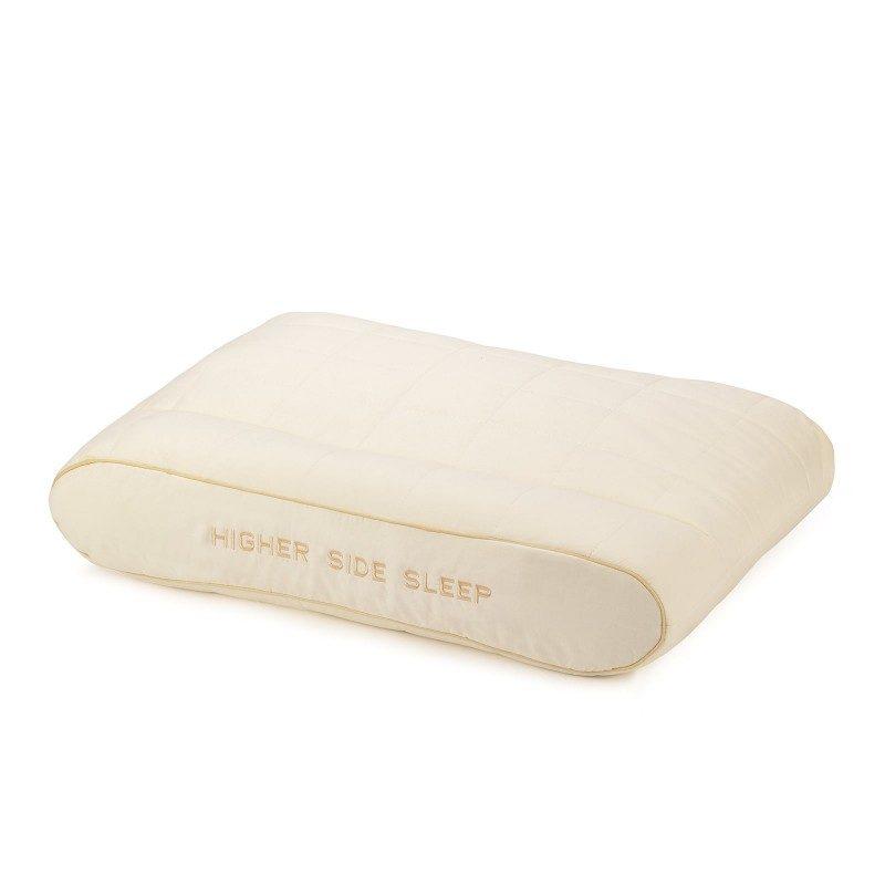 Edinstvena kombinacija klasičnega in višjega anatomskega vzglavnika Bamboo Higher Side Sleep vas bo navdušila z udobjem, saj ga lahko poljubno nastavljate po višini in trdoti. Vzglavnik je idealna izbira za vse, ki imate širša ramena in najpogosteje spite na boku. Vzglavnik je v celoti pralen na 60 °C.