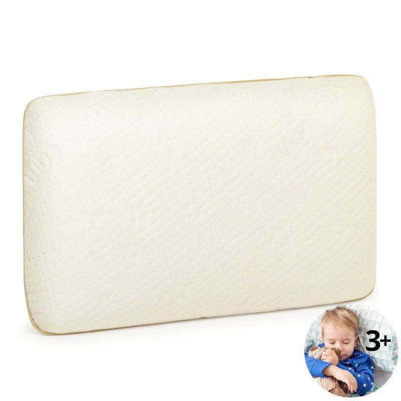 Klasična oblika vzglavnika za vse spalne položaje MemoDream Junior je primerna za otroke od tretjega leta starosti naprej. Spominska pena združuje prednosti in lastnosti klasičnih vzglavnikov ter vzglavnikov iz lateksa. Najnežneje se prilagodi otroškemu vratu in glavi, odlično podpira hrbtenico ter razbremeni telo med spanjem. Prevleka vzglavnika je snemljiva in pralna na 40 °C.