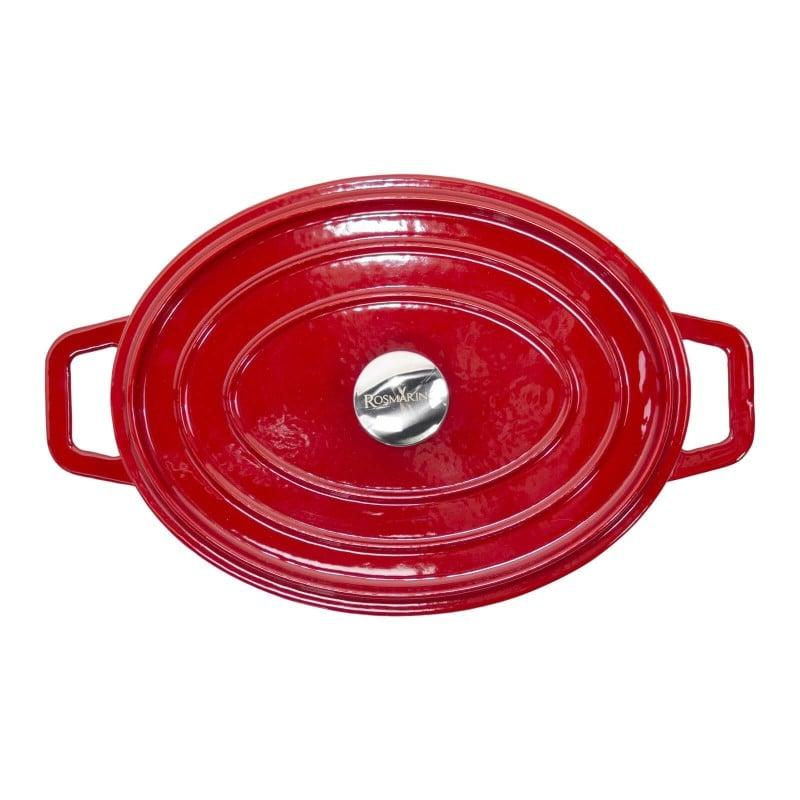 Za vse kuharske navdušence in gurmane, ki od posode pričakujejo največ. Litoželezni lonec Blacksmith's je vrhunske izdelave, najvišjega kakovostnega razreda in neverjetno vsestranske uporabe. Vso posodo iz linije Blacksmith's označuje moderen dizajn in neverjetna vzdržljivost litoželeznega ogrodja in emajliranega premaza. Primeren je za vsa kuhališča, tudi za indukcijo in uporabo v pečici in na žaru.