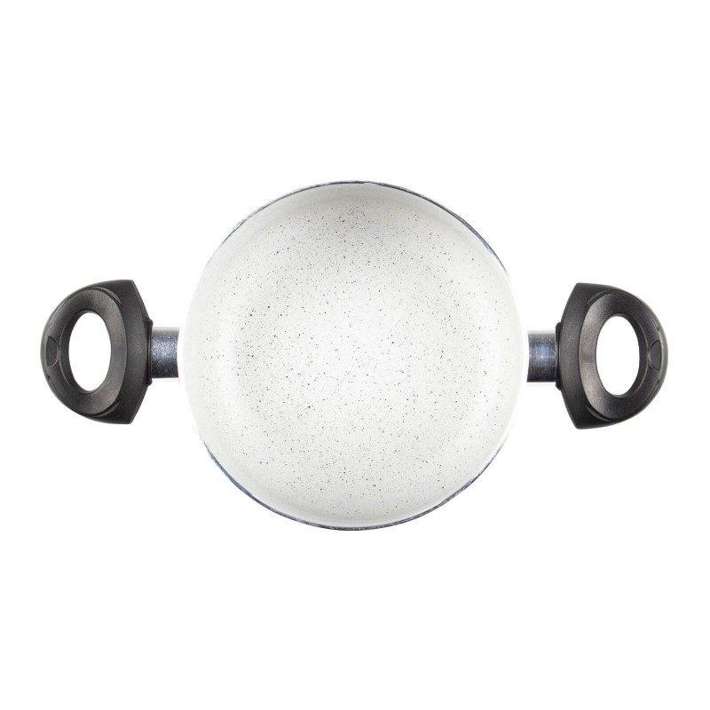 Lonec Eco Cook premera 20 cm z neoprijemljivim gladkim mineralnim premazom omogoča naraven način kuhanja, z malo maščobami. Hrana tako zadrži vse potrebne vitamine in minerale, ki jih naše telo potrebuje za zdrav način življenja. Primeren je za vsa kuhališča, tudi indukcijo, enostaven za pomivanje, tudi v pomivalnem stroju. Vsa posoda iz linije Eco Cook temelji na večslojni sestavi, s čimer je zagotovljena dolga življenjska doba ter visoka stopnja odpornosti in vzdržljivosti posode.