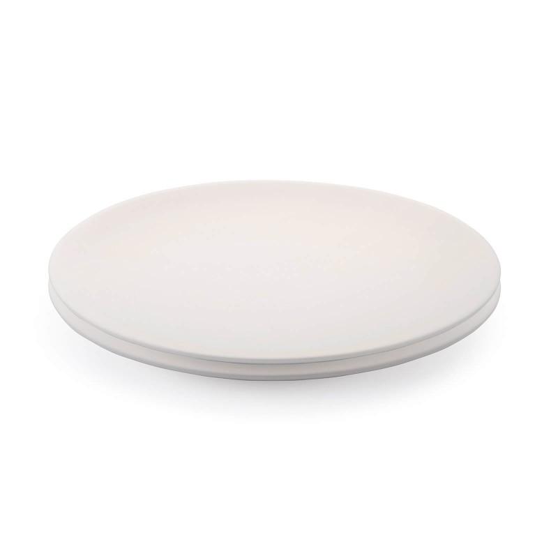 Linija porcelana Rosmarino Cucina Bianca navdušuje s svojim dovršenim dizajnom in snežno belino za brezmejno eleganco. Uživajte v svojih najljubših obrokih! Velik krožnik je izdelan iz visokokakovostnega in vzdržljivega porcelana. S svojo velikostjo je idealen za serviranje glavnih jedi. Gladek in sijoč porcelan bo dodal vaši mizi klasično lepoto in dodano vrednost ter bo zagotovo navdušil tako domače kot goste. Porcelan s svojim videzom ni primeren le za domačo uporabo, ampak se s svojim prefinjenim izgledom odlično poda tudi v okolje profesionalne kuhinje.