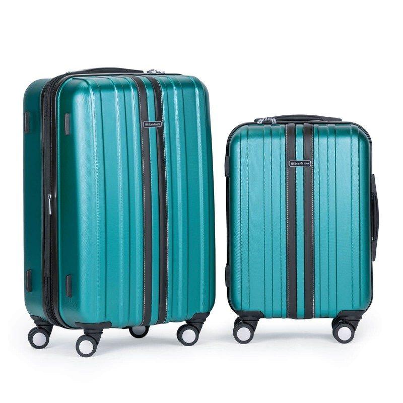 Trdi potovalni kovček Scandinavia predstavlja novo generacijo visokokakovostnih kovčkov iz vodoodbojne ABS plastike z dvojno zadrgo. Celotna kolekcija temelji na inovativnosti in izjemni vzdržljivosti, ki je preizkušena in dokazana na večih obremenitvenih testih. Vsi kovčki kolekcije Scandinavia imajo omejeno 5 letno garancijo in so na voljo v petih barvah in dveh velikostih.