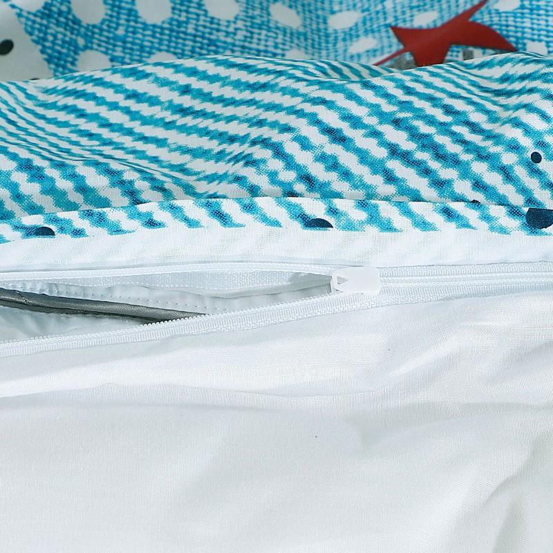 Poskrbite za miren in udoben spanec svojih najmlajših z bombažno posteljnino! Prikupen otroški motiv bo otroke zagotovo navdušil in popeljal v čudovito sanjsko deželo. Posteljnina Heaven je iz renforce platna, ki velja za lahko, mehko tkanino, preprosto za vzdrževanje. Posteljnina je pralna na 40 °C.
