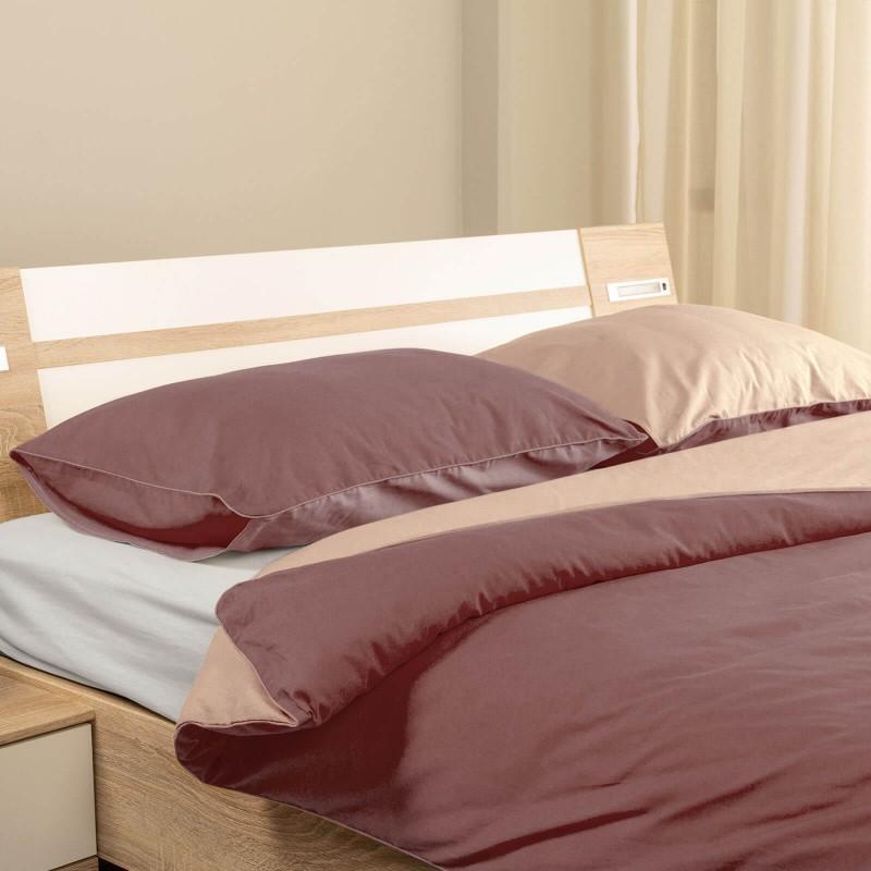 Čas je za popolno razvajanje z moderno bombažno posteljnino! Posteljnina French Rose je iz renforce platna, ki velja za lahko, mehko tkanino, preprosto za vzdrževanje. Možnost uporabe na obeh straneh. Posteljnina je pralna na 40 °C.