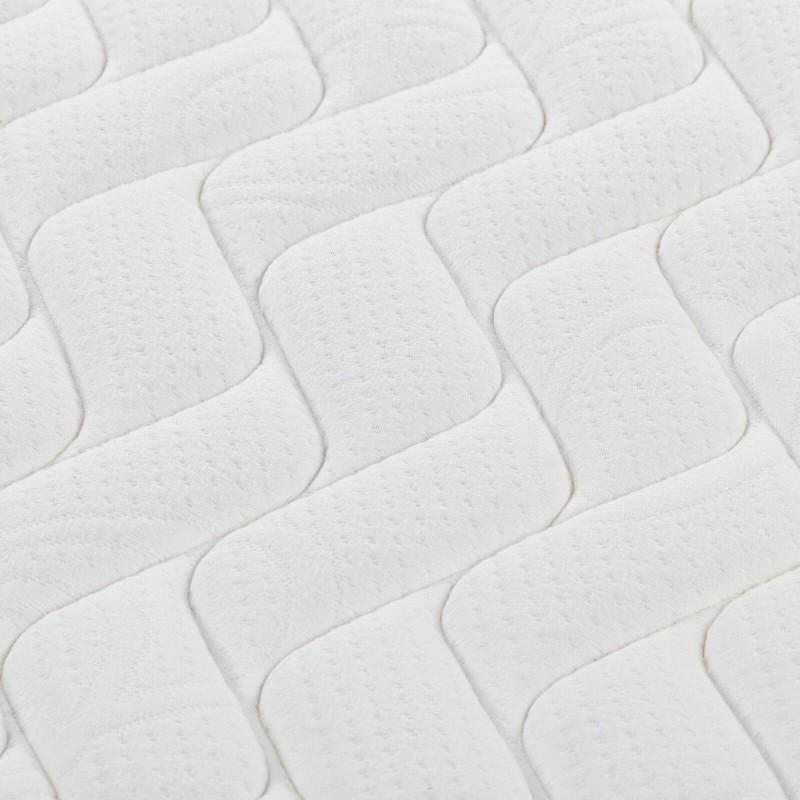 7-consko žepkasto ležišče Hitex Zero Gravity 24 Memory Soft je visoko 24 cm in poskrbi za popolno podporo vašega telesa in udobje ter zagotavlja, da se boste zjutraj zbudili spočiti in naspani. Ležišče je kot nalašč za ljubitelje mehkejših ležišč. Samostojne žepkaste vzmeti v kombinaciji z dodatno plastjo elastične pene v jedru, poliuretansko peno in spominsko peno v prevleki ležišča poskrbijo za njegovo popolno prilagoditev, zagotavljajo pravilno lego telesa in vam nudijo sproščujoč spanec.