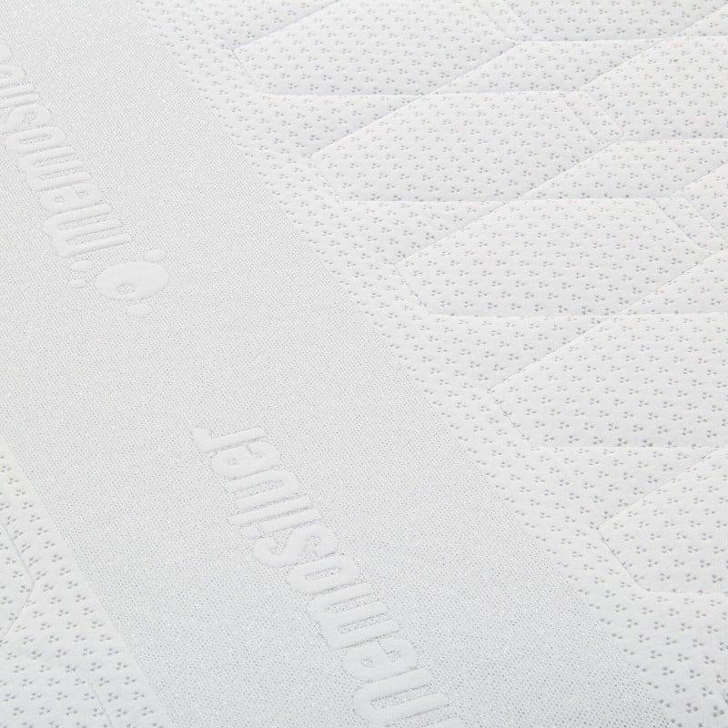 7-consko penasto ležišče Hitex MemoSilver 18+2 Memory je visoko 20 cm in ima obračljivo jedro s čvrsto in mehkejšo stranjo, zato lahko sami izberete trdoto ležišča. Ortopedsko jedro in 2-centimetrska spominska pena v prevleki ležišča poskrbita za popolno podporo vašega telesa in udobje ter zagotavljata, da se boste zjutraj zbudili spočiti in naspani. Prevleka ležišča je snemljiva in pralna na 40 °C.