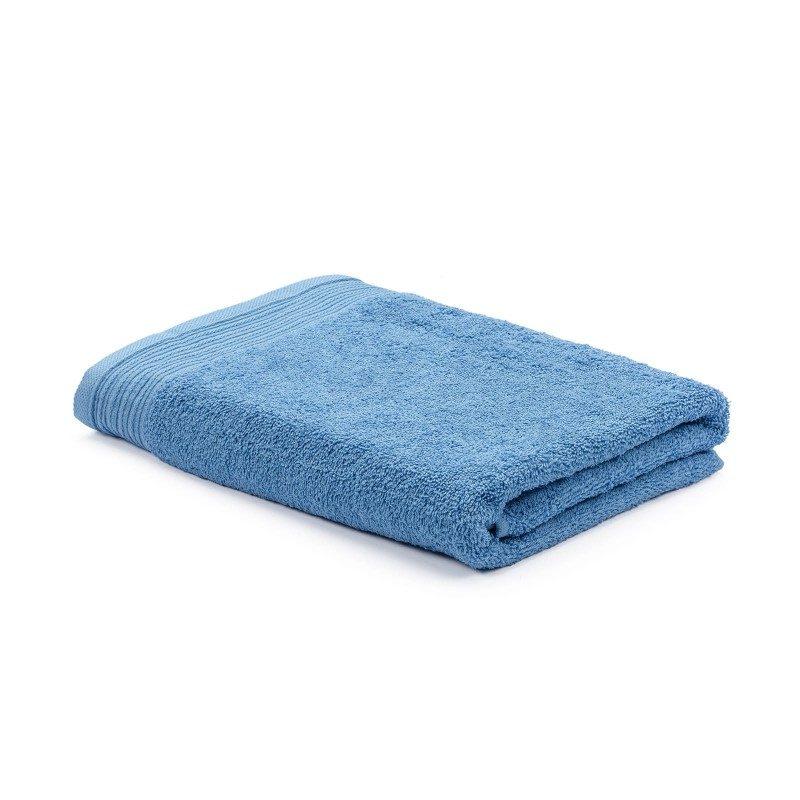 Doživite razkošno udobje v svoji kopalnici! Kakovostna brisača Prima iz bombažnega frotirja je trpežna, mehka, vpojna in se hitro suši. Klasična enobarvna brisača s strukturno borduro na robovih. Brisača je pralna na 60 °C