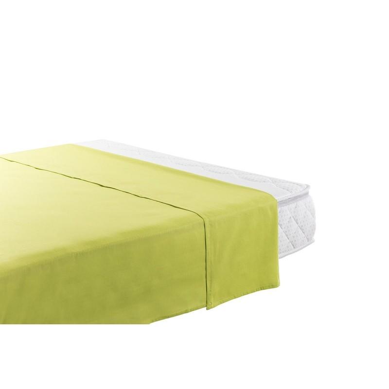 Bombažna rjuha Selina je iz renforce platna, ki velja za lahko, mehko tkanino, preprosto za vzdrževanje. Klasična rjuha brez elastike na robovih je vsestransko uporabna: kot rjuha, lahka poletna odeja za vroče noči ali kot pregrinjalo za ležišče. Zaradi svojih dimenzij je primerna tudi za višja ležišča do višine 25 cm. Rjuha je pralna na 60 °C.