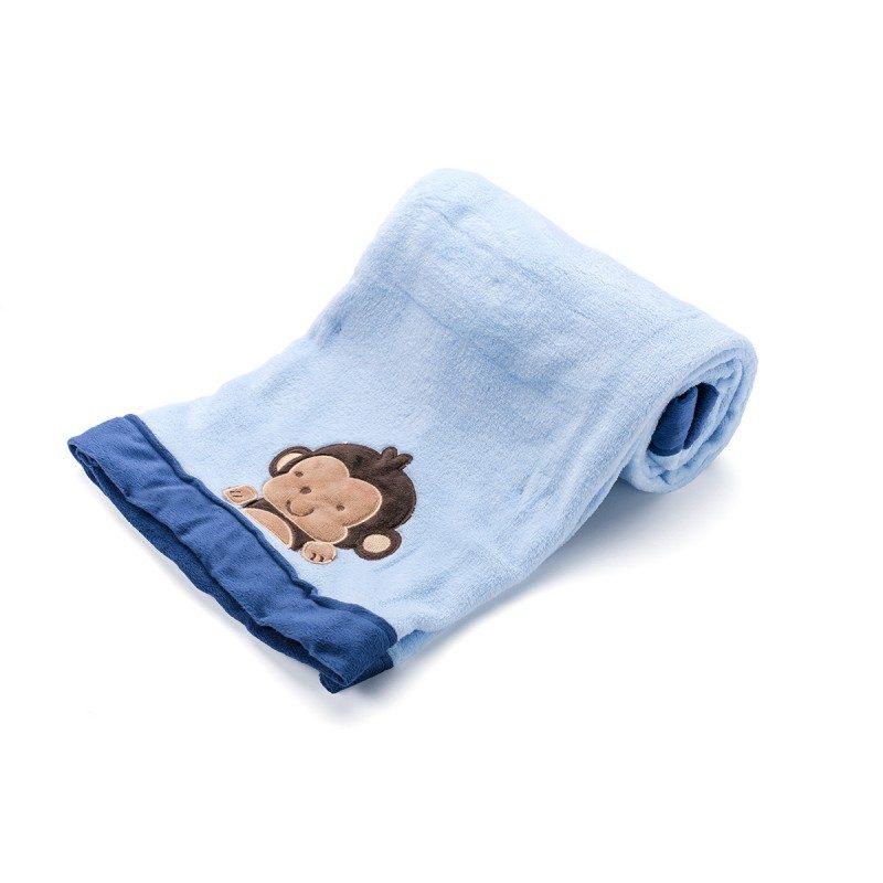 Mehka otroška odejica iz kakovostnih mikrovlaken za otroško posteljico, voziček ali za na pot.