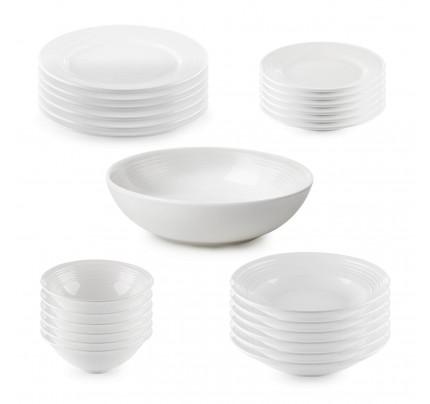 25-delni jedilni servis iz porcelana Rosmarino Cucina Deko