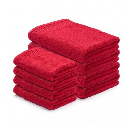 8-delni set brisač Svilanit Prima - rdeča