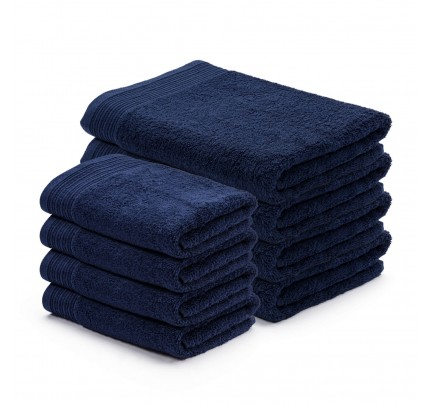 8-delni set brisač Svilanit Prima - temno modra