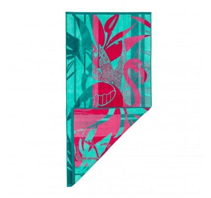 Brisača za na plažo Svilanit Flamingo