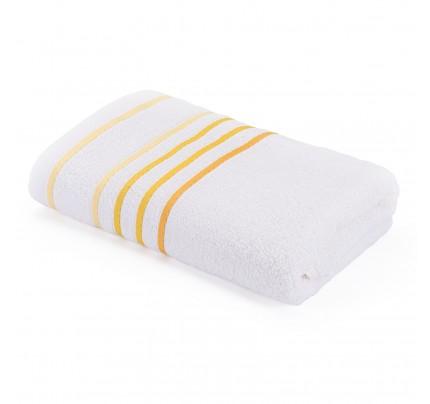 Brisača Svilanit Rainbow - belo-rumena