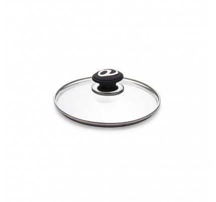 Steklena pokrovka Rosmarino Black Lava Stone - 20 cm