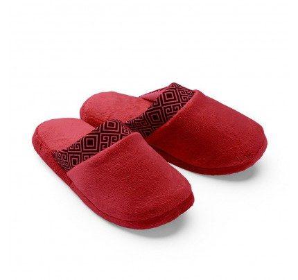 Ženski copati Vitapur Family SoftTouch - rdeči