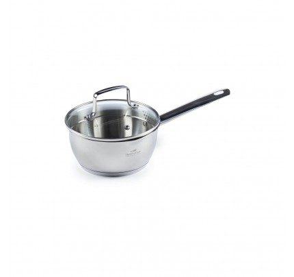 Jeklena kozica Rosmarino Pour&Cook II s stekleno pokrovko 1 l - 16 cm