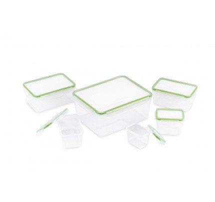 12-delni set plastičnih posod za shranjevanje živil Rosmarino