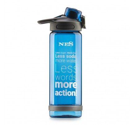 Plastenka za vodo NES - modra, 700 ml
