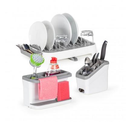 3-delni set kuhinjskih organizatorjev in odcejalnikov Rosmarino