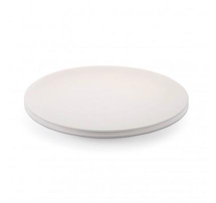 Set 2 plitvih porcelanastih krožnikov Rosmarino Cucina Bianca - 25 cm