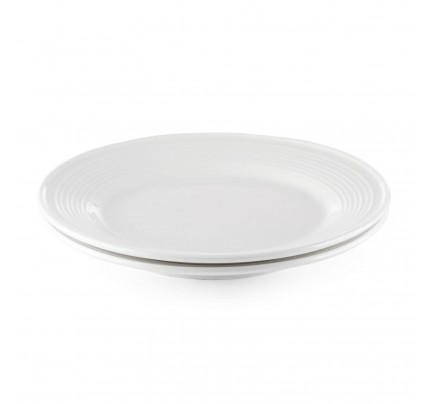 Set 2 desertnih porcelanastih krožnikov Rosmarino Cucina Deko - 19 cm