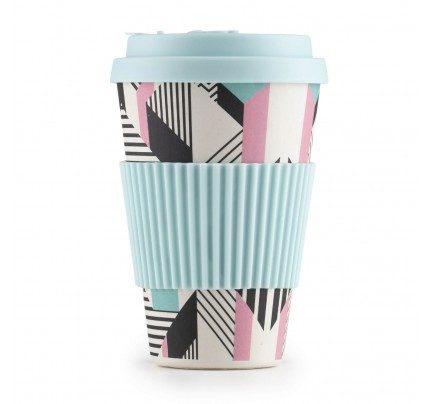 Bambusov lonček za kavo Linear - 400 ml