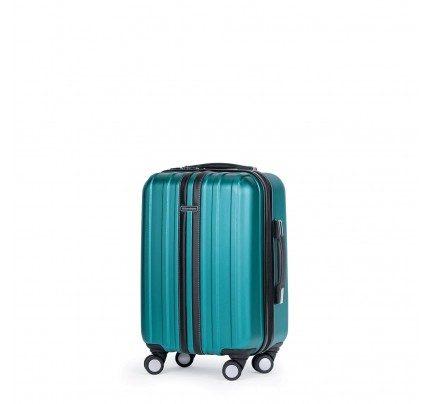 Potovalni kovček Scandinavia- turkizen, 40 l