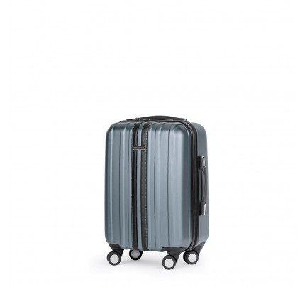 Potovalni kovček Scandinavia- srebrn, 40 l