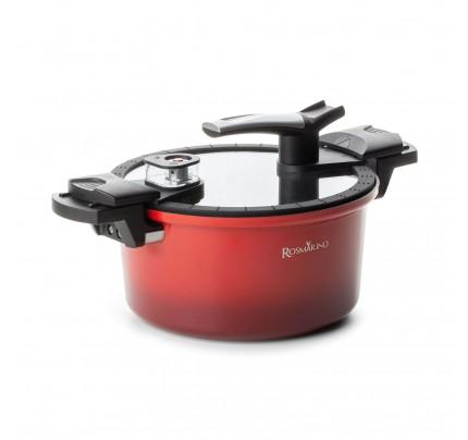 Lonec za kuhanje pod tlakom s pametno pokrovko Rosmarino 5 l - 24 cm