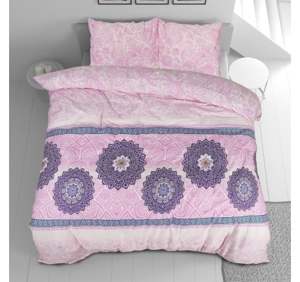 Bombažno-satenasta posteljnina Svilanit Suhana