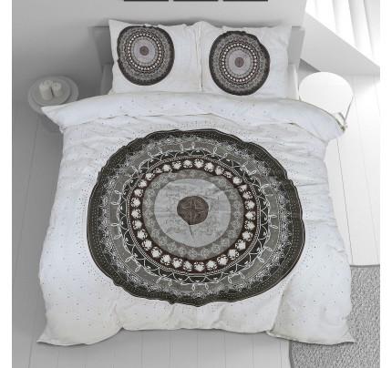 Bombažno-satenasta posteljnina Svilanit Circle