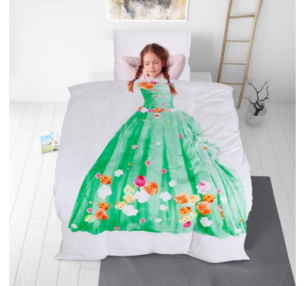 Otroška bombažna posteljnina Svilanit Tiana