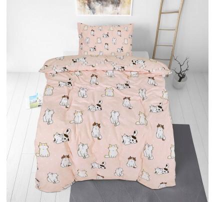 Otroška bombažna posteljnina Svilanit Pretty Cats