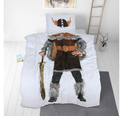 Otroška bombažna posteljnina Svilanit Viking
