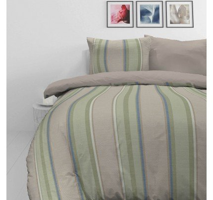 Bombažno-satenasta posteljnina Svilanit Harring Bone