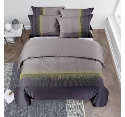 Bombažno-satenasta vezena premium posteljnina Svilanit Stella