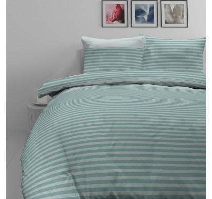 Bombažno-satenasta posteljnina Svilanit Lila