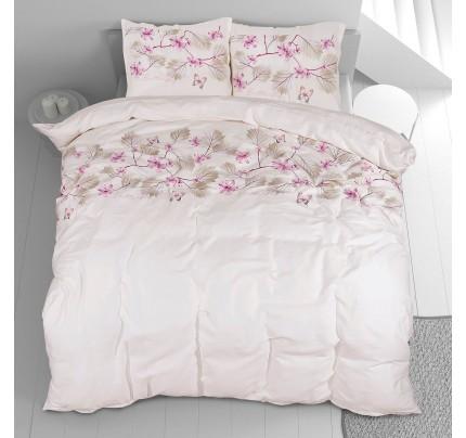 Bombažno-satenasta posteljnina Svilanit Spring Dreams