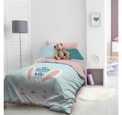 Otroška bombažna posteljnina Svilanit Bunny
