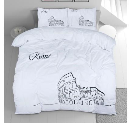Bombažna posteljnina Svilanit Day in Rome