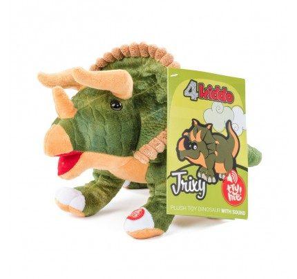 Plišasta igrača 4Kiddo dinozaver Trixy - z zvokom
