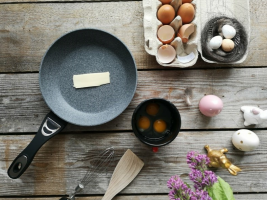 Recept za kremno umešana jajca s tartufi
