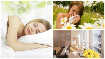 Vse za dobro spanje tudi v času cvetenja