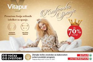 Vitapurjeva premium linija svilenih izdelkov v Sparu