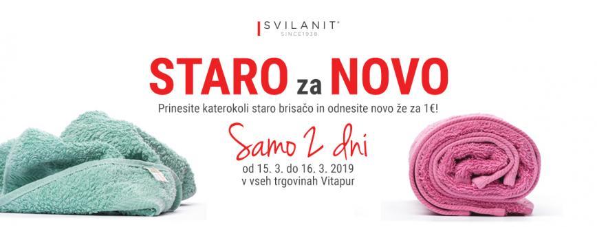 Velika akcija brisač Svilanit: prinesi STARO, odnesi NOVO