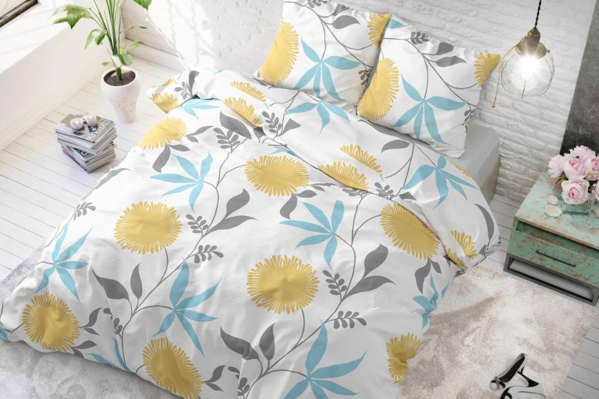 NOVI trendi posteljnin: povabi pomladne barve s spalnico
