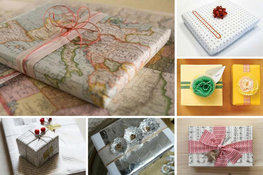 Najboljše ideje za zavijanje daril doma